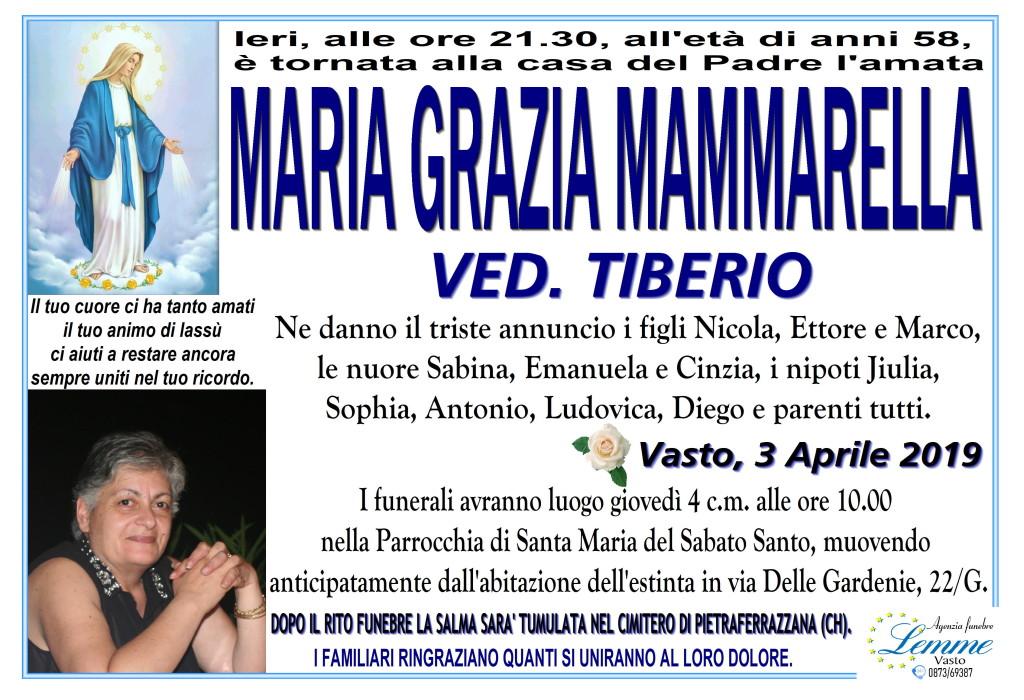 MARIA GRAZIA MAMMARELLA