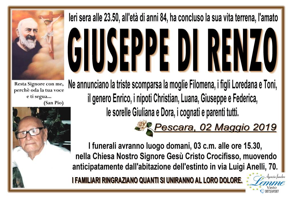 GIUSEPPE DI RENZO