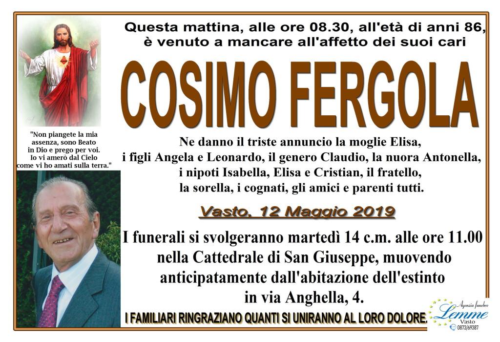 COSIMO FERGOLA