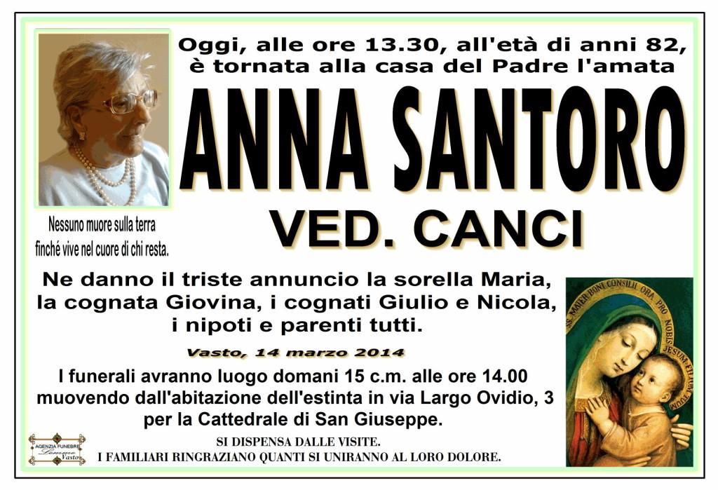 ANNA SANTORO
