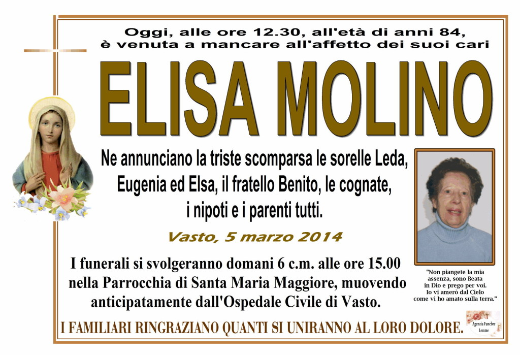 ELISA MOLINO