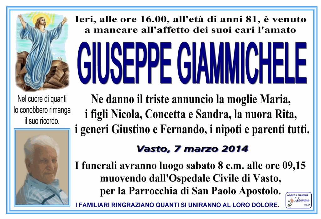 GIUSEPPE GIAMMICHELE