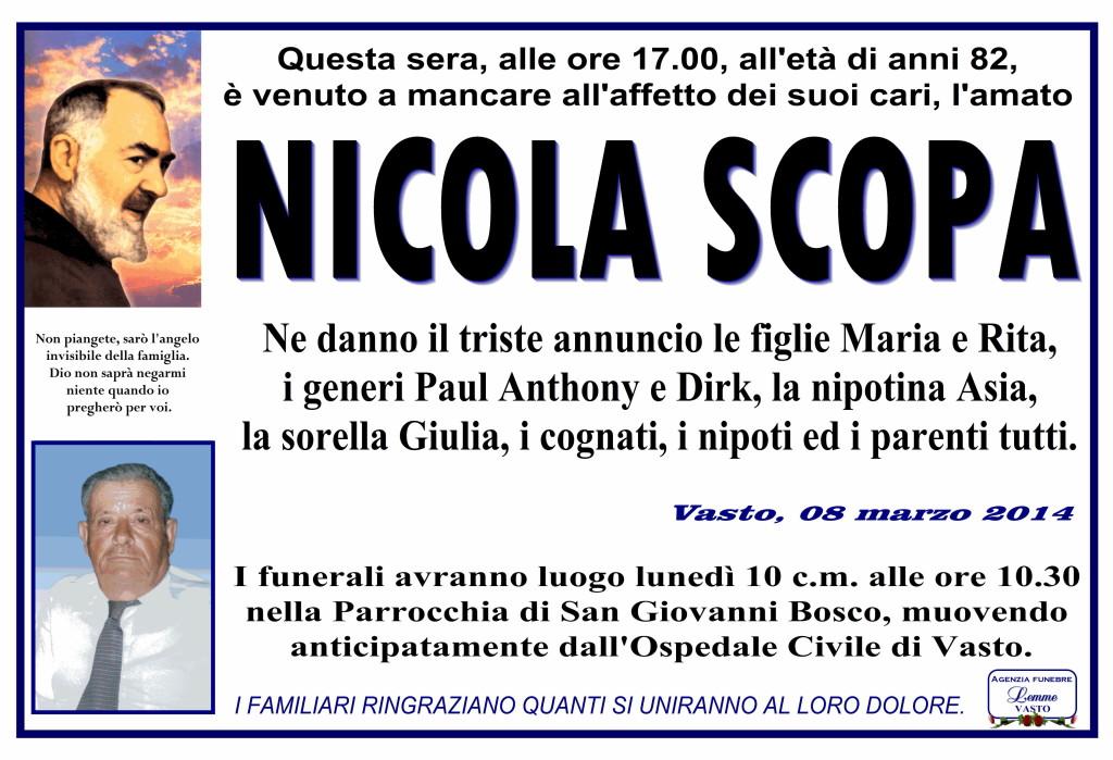 NICOLA SCOPA