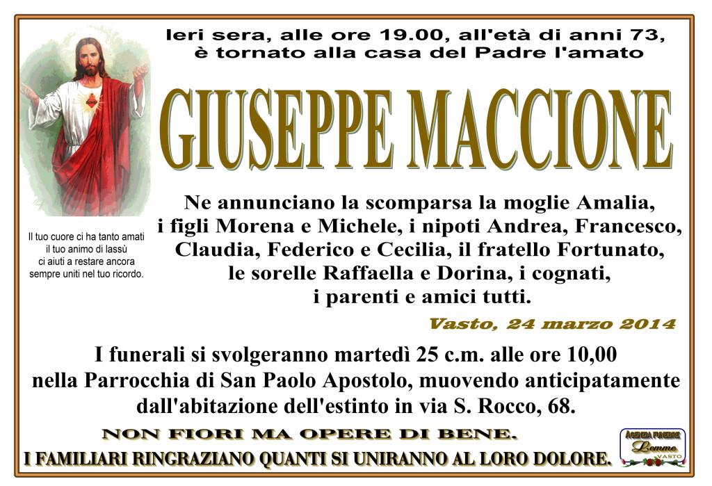 GIUSEPPE MACCIONE