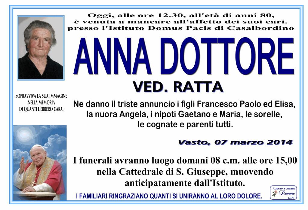 ANNA DOTTORE