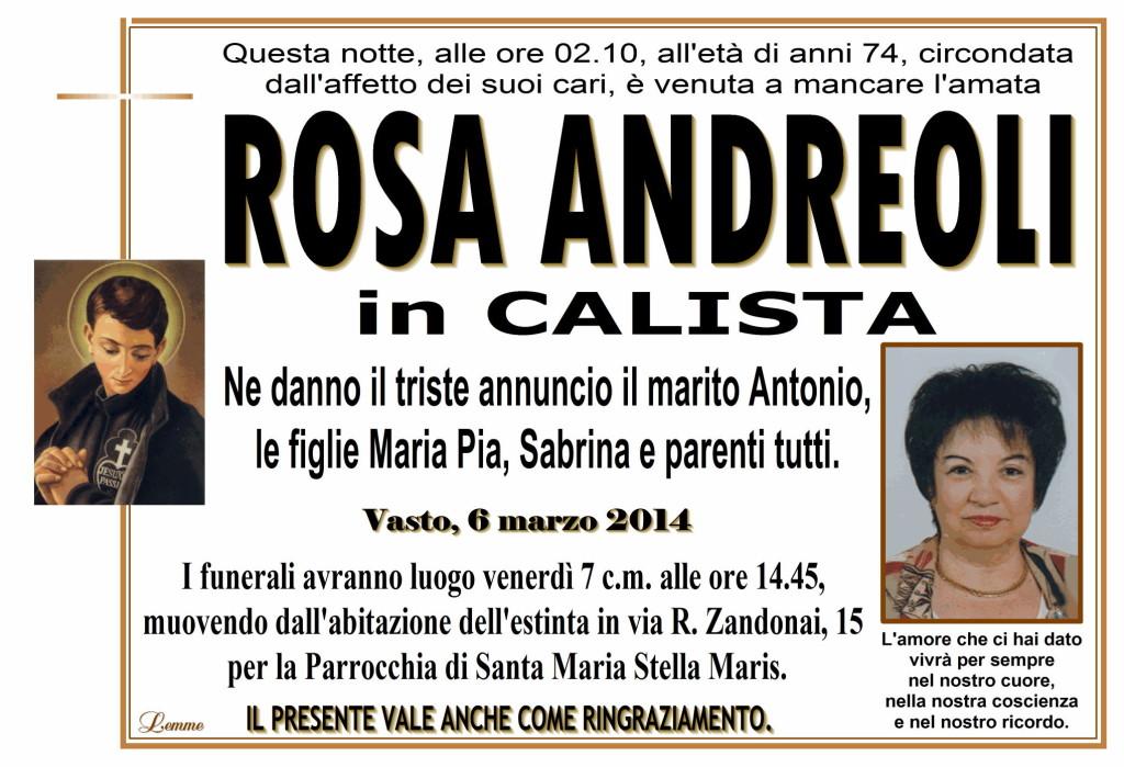ROSA ANDREOLI