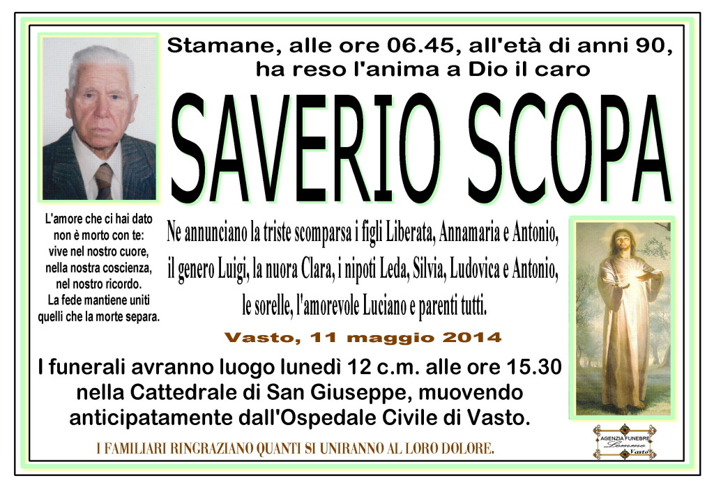 SAVERIO SCOPA