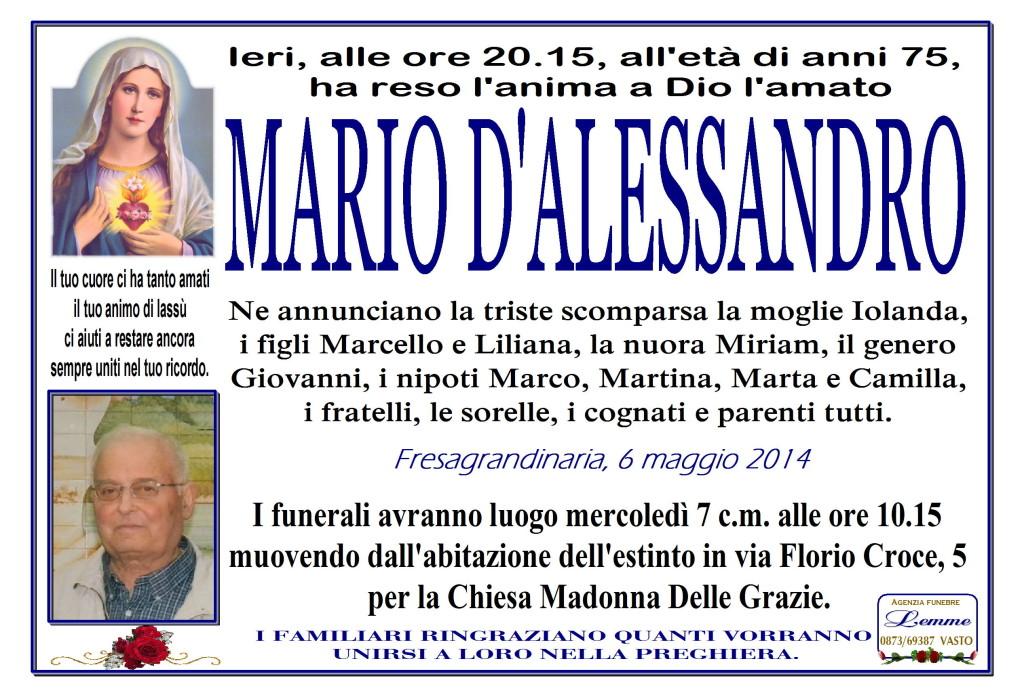 MARIO D'ALESSANDRO