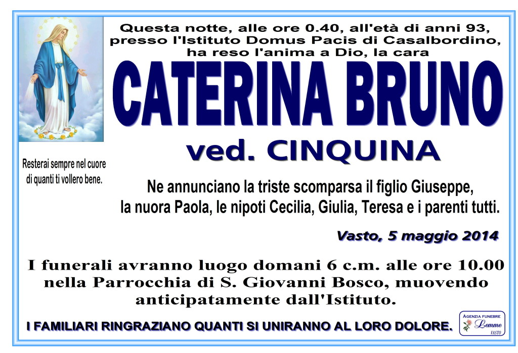 CATERINA BRUNO
