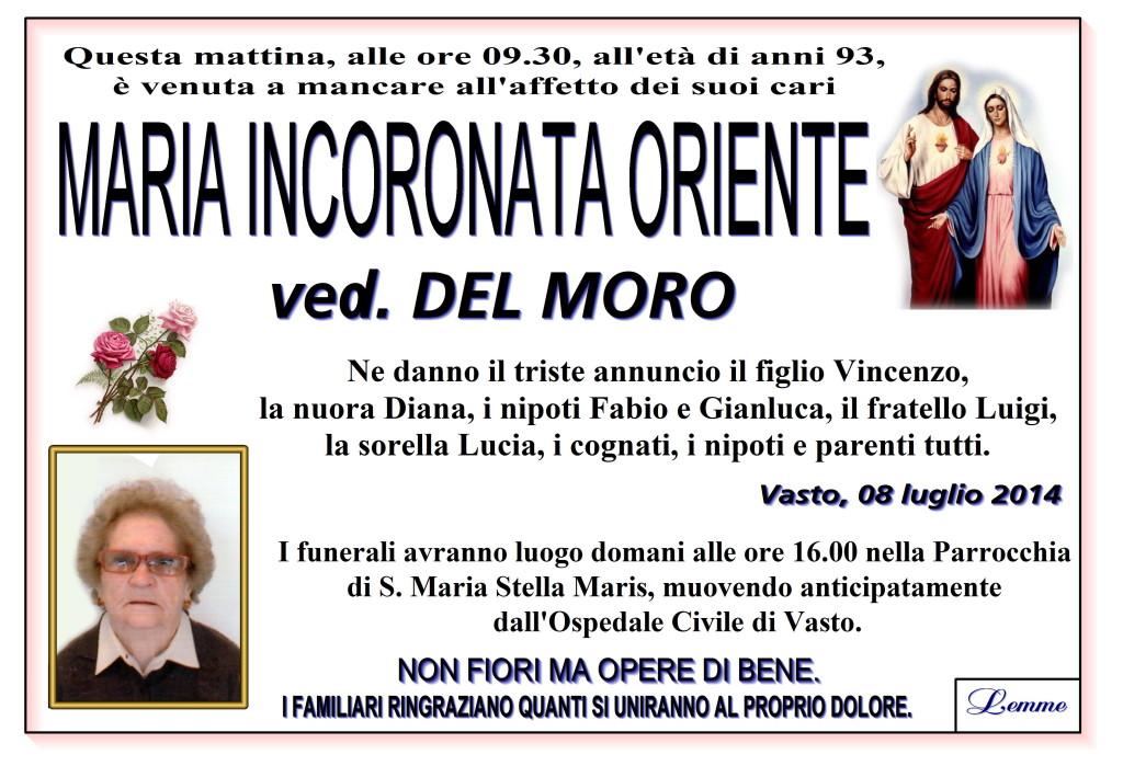 MARIA INCORONATA ORIENTE