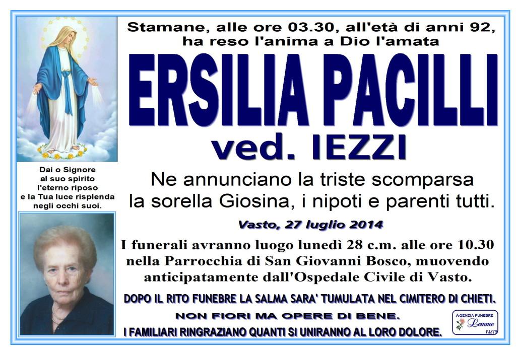 ERSILIA PACILLI