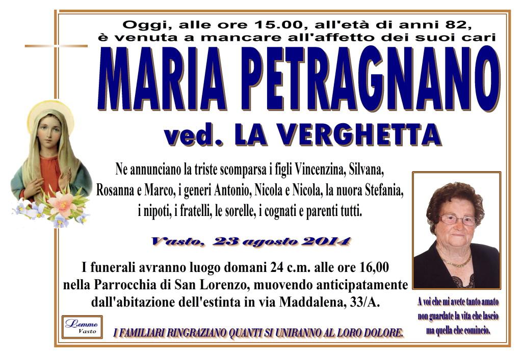 MARIA PETRAGNANO