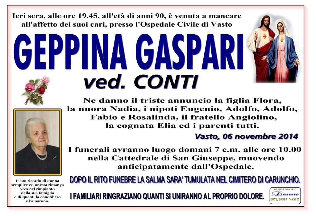 GEPPINA GASPARI