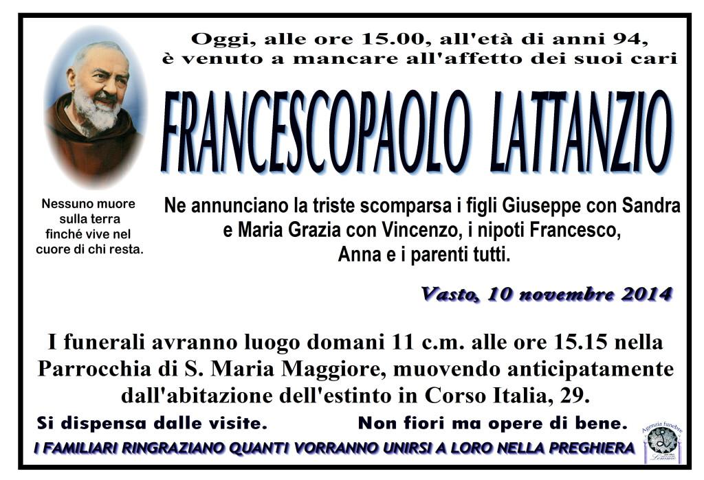 FRANCESCOPAOLO LATTANZIO