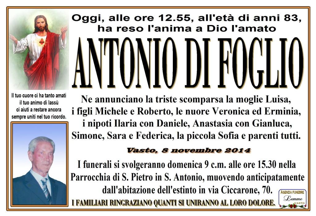 ANTONIO DI FOGLIO