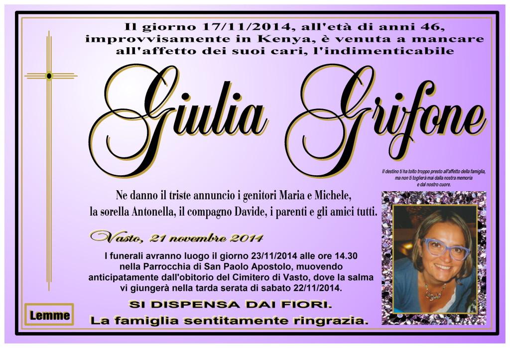 GIULIA GRIFONE