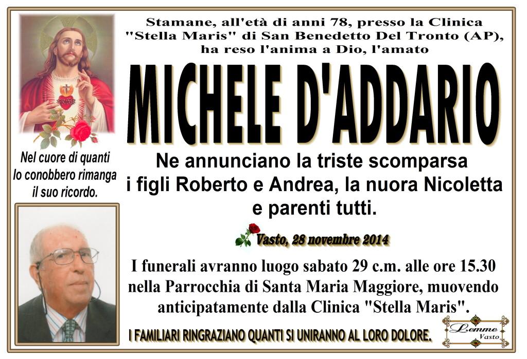 MICHELE D'ADDARIO