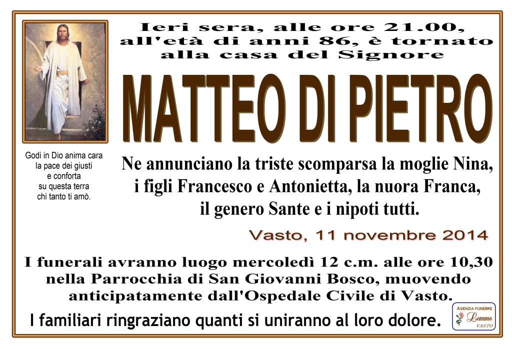 MATTEO DI PIETRO