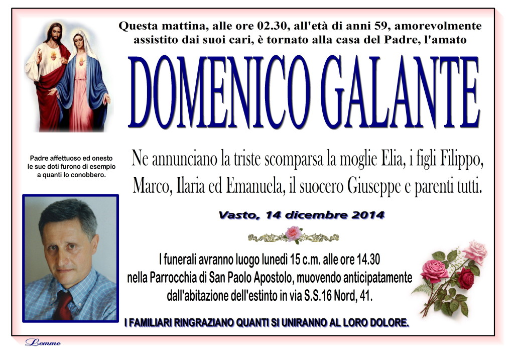 DOMENICO GALANTE