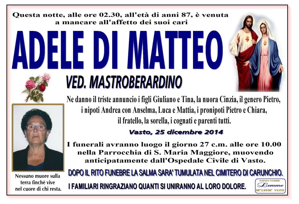 ADELE DI MATTEO