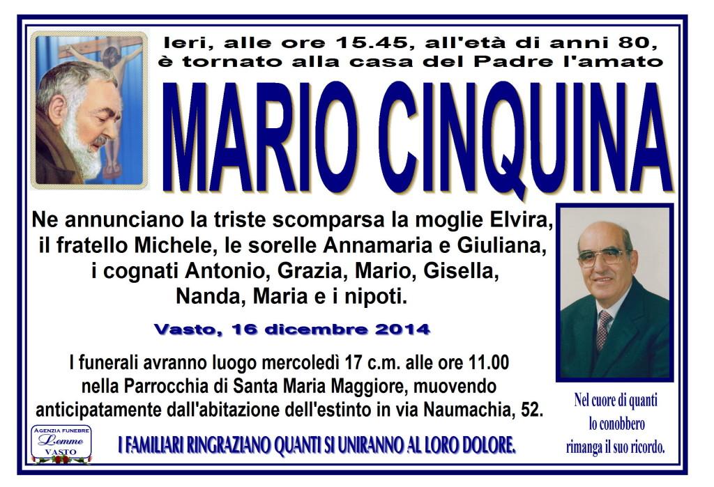 MARIO CINQUINA