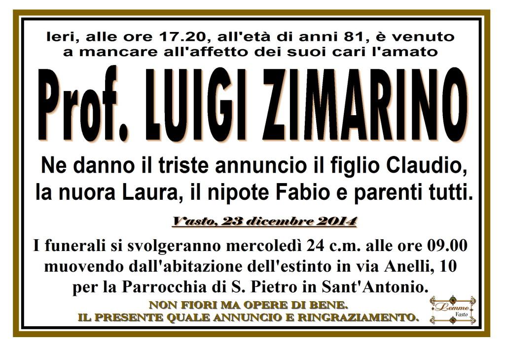 LUIGI ZIMARINO
