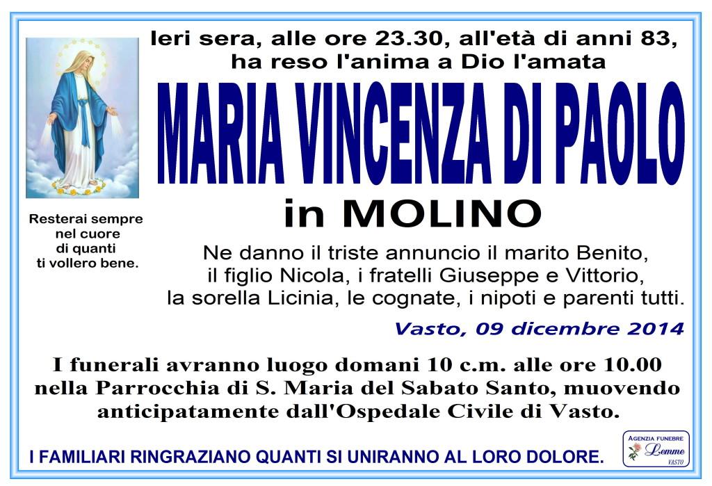 MARIA VINCENZA DI PAOLO