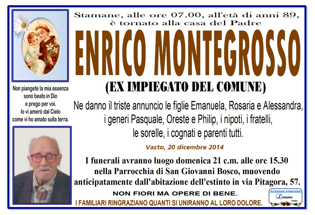 ENRICO MONTEGROSSO
