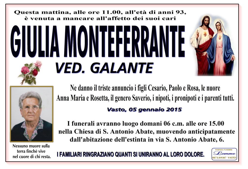 GIULIA MONTEFERRANTE