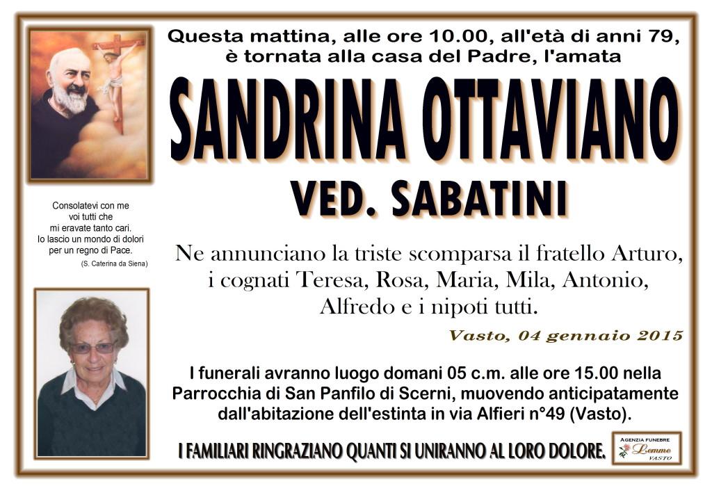 SANDRINA OTTAVIANO