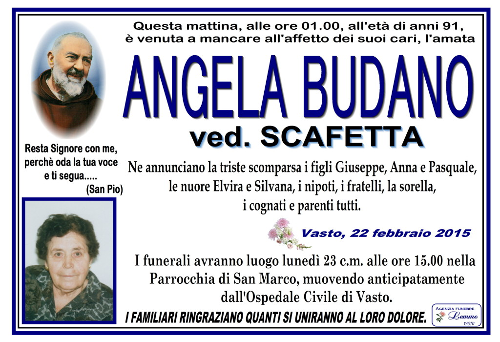 ANGELA BUDANO