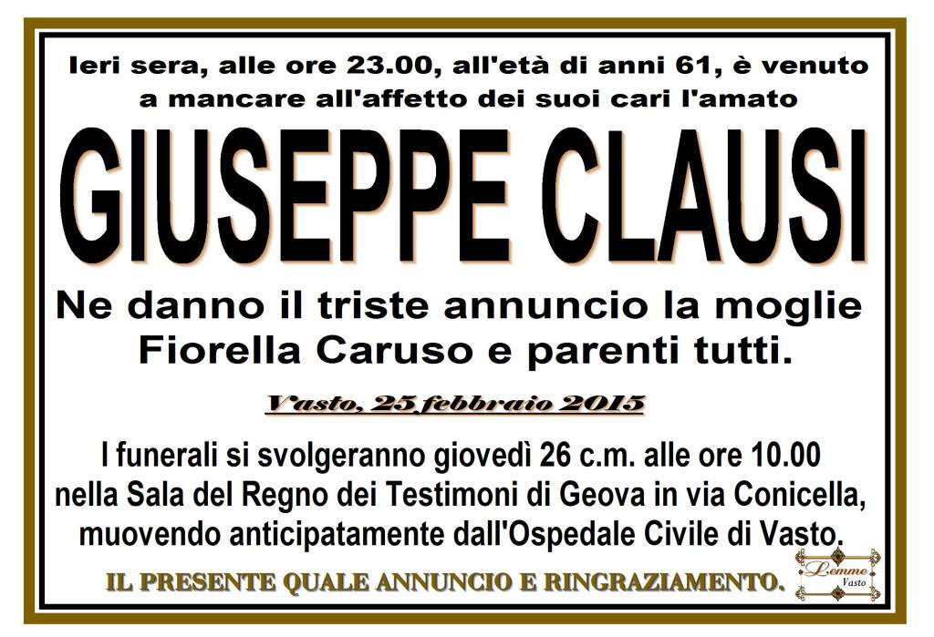 GIUSEPPE CLAUSI