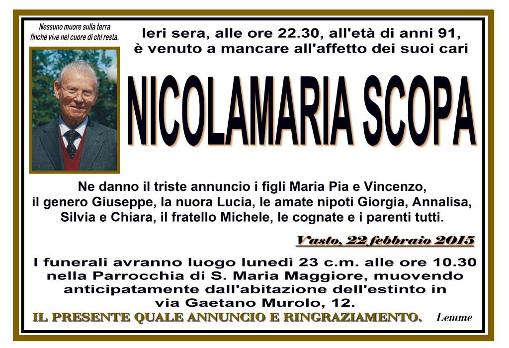 NICOLAMARIA SCOPA