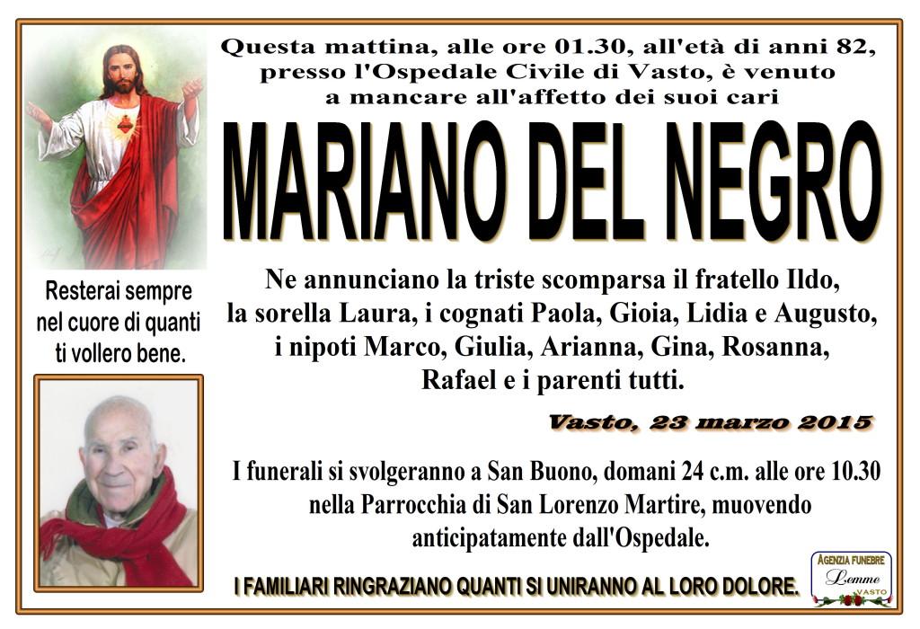 MARIANO DEL NEGRO