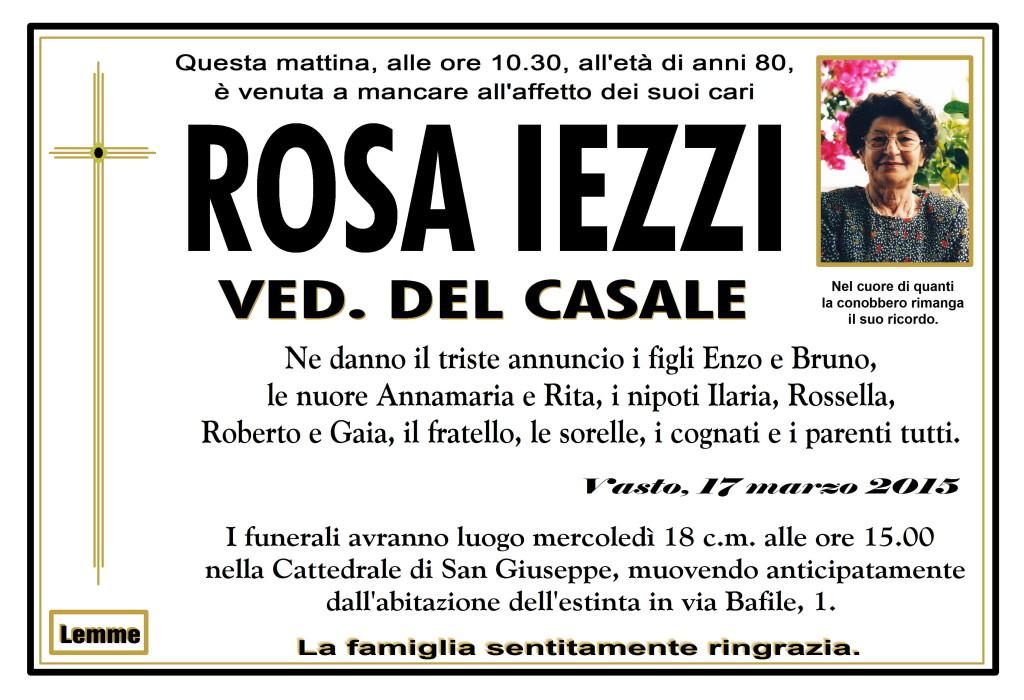 ROSA IEZZI