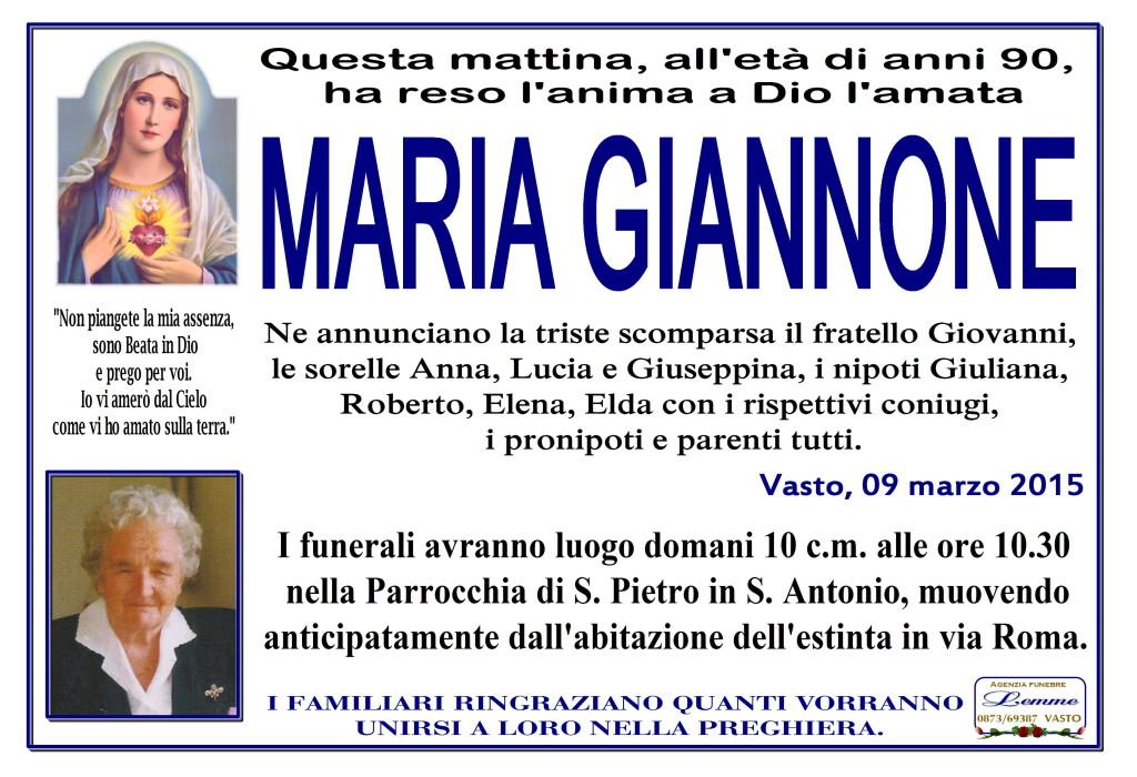 MARIA GIANNONE