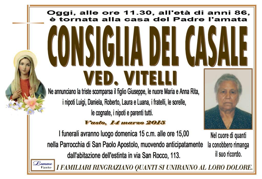 CONSIGLIA DEL CASALE
