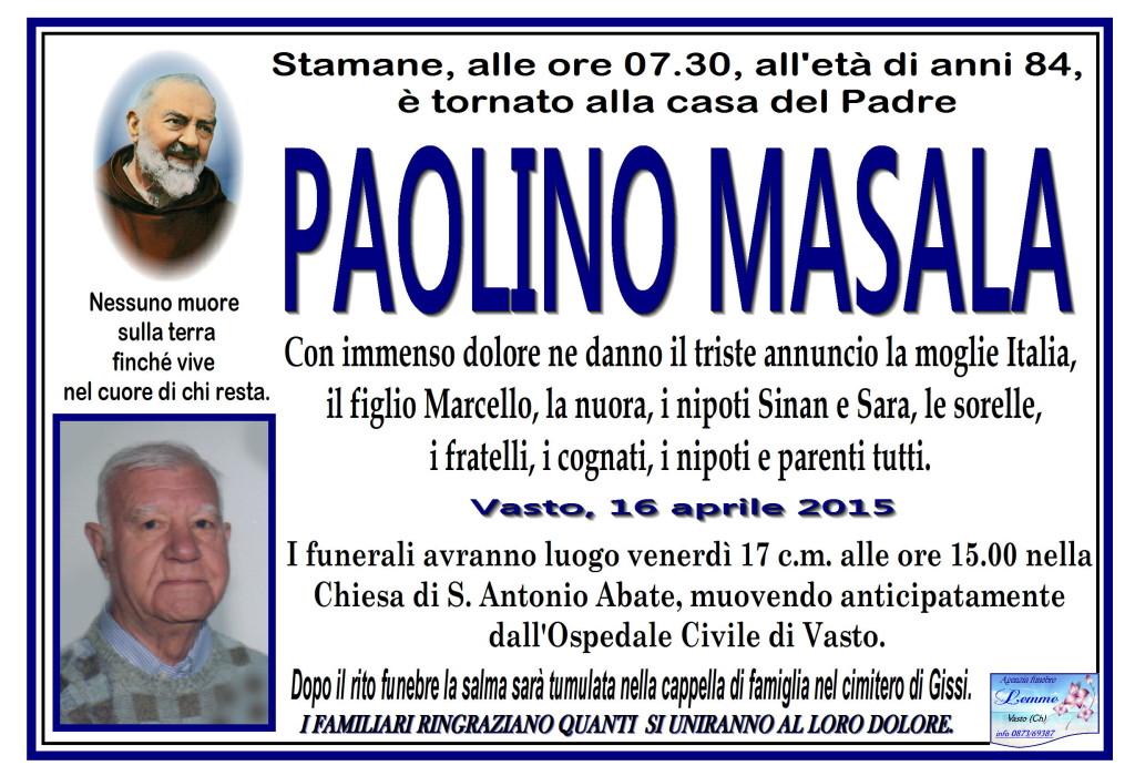 PAOLINO MASALA