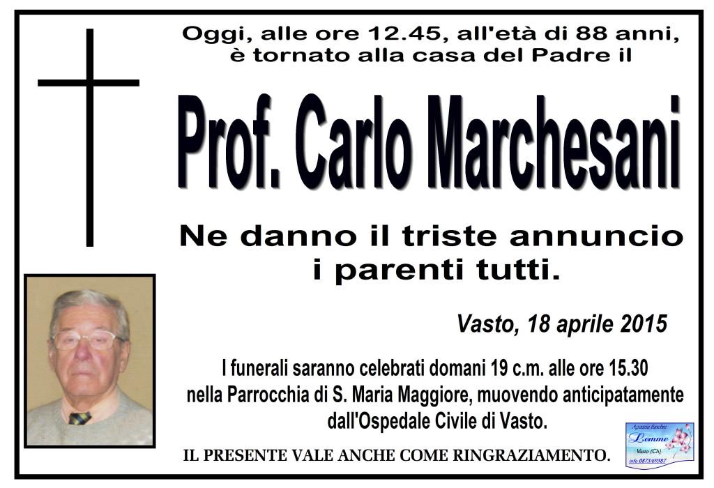 CARLO MARCHESANI