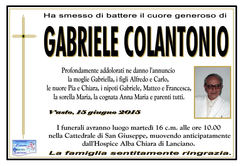GABRIELE COLANTONIO