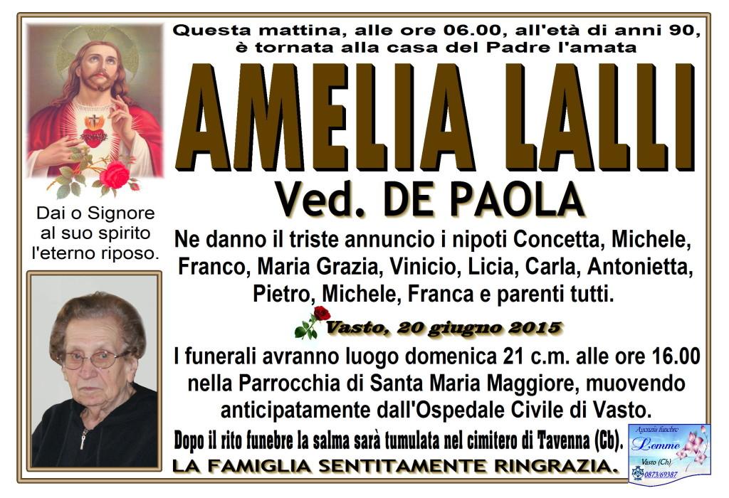 AMELIA LALLI