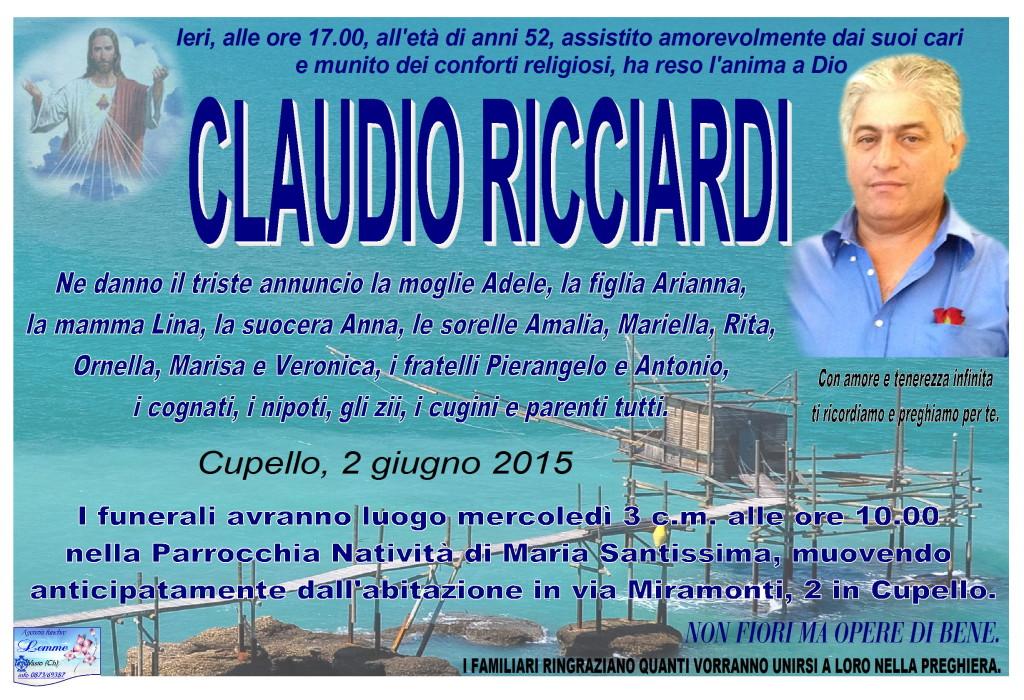CLAUDIO RICCIARDI