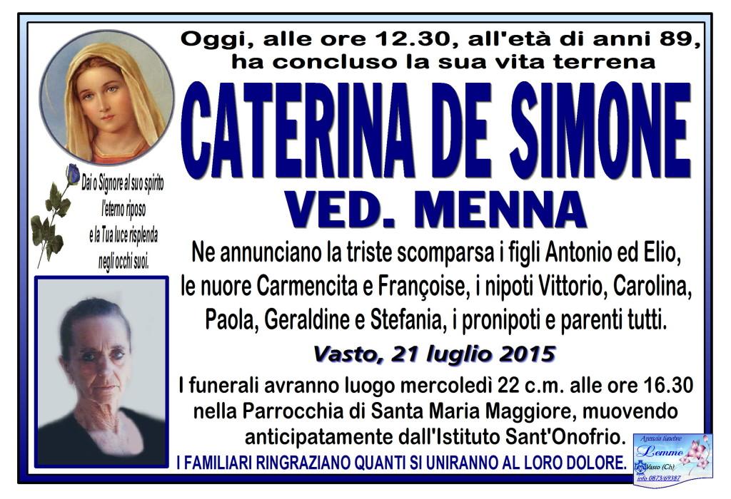 CATERINA DE SIMONE