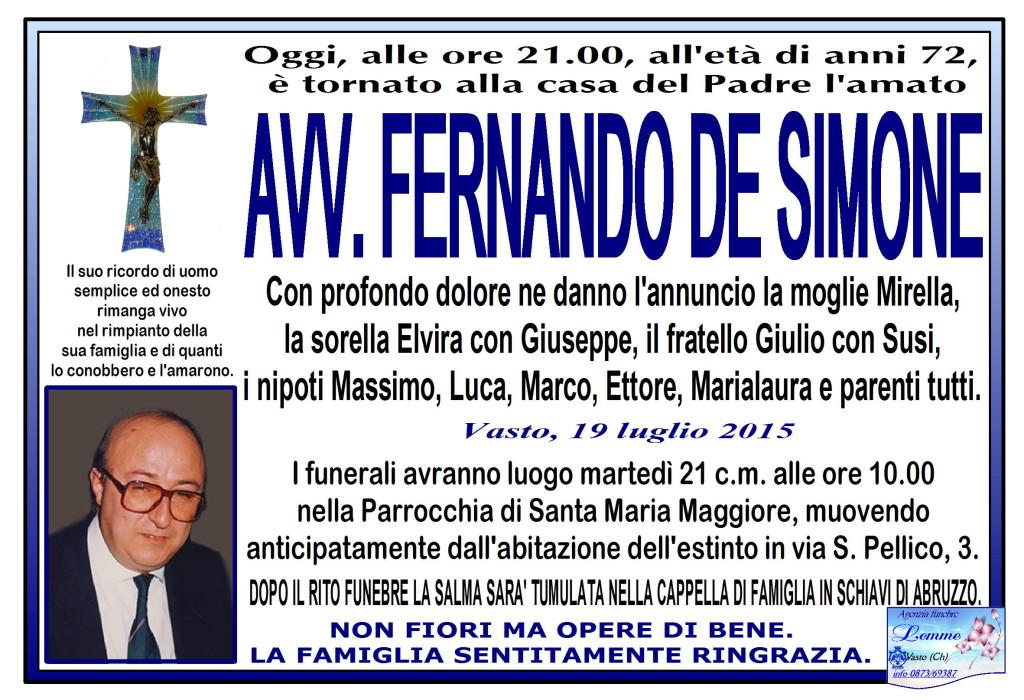 FERNANDO DE SIMONE
