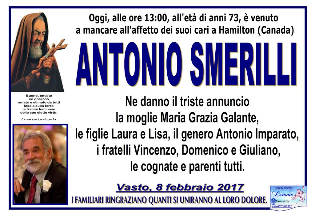 ANTONIO SMERILLI
