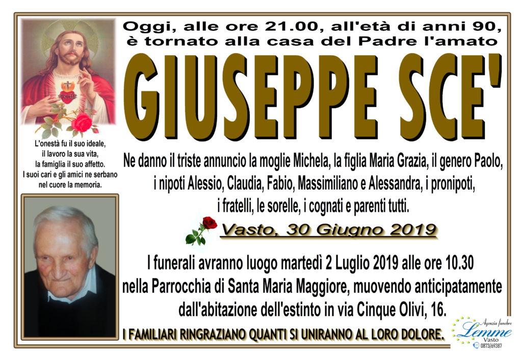 GIUSEPPE SCE'