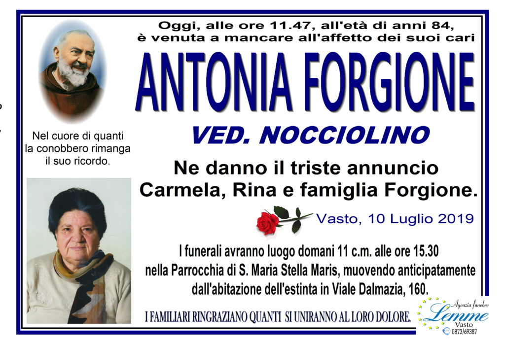ANTONIA FORGIONE