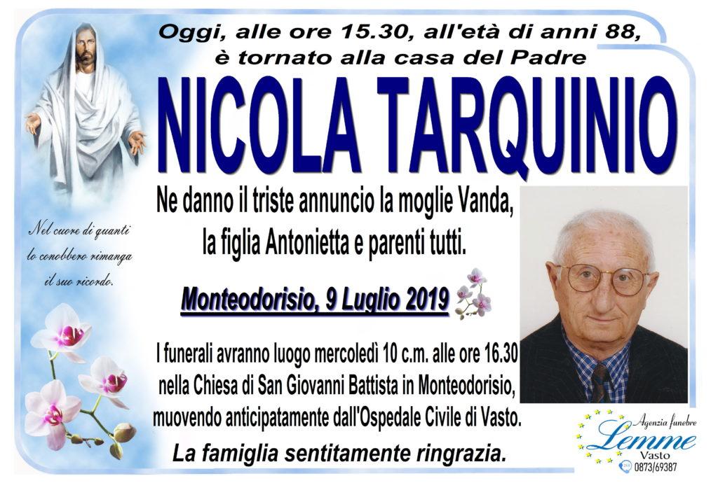 NICOLA TARQUINIO