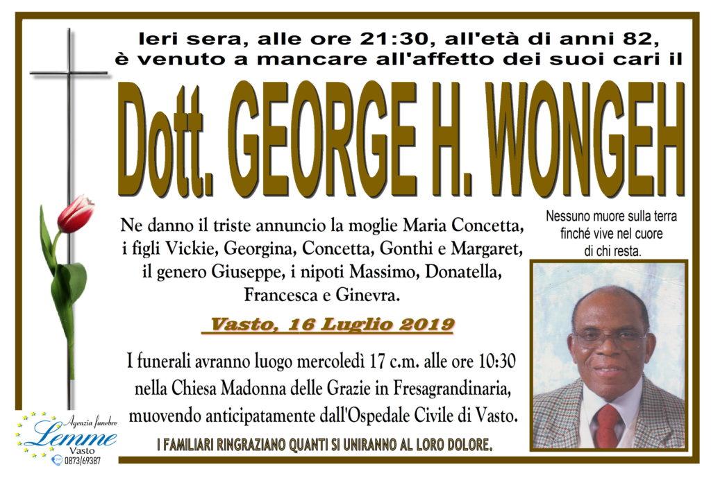 GEORGE H. WONGEH