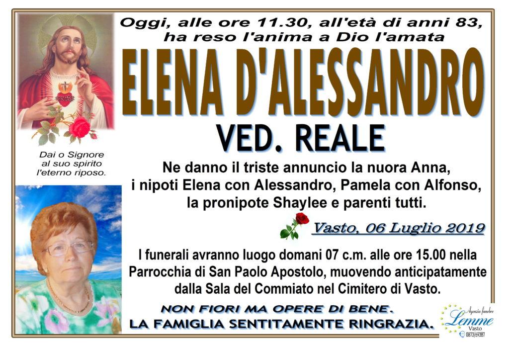 ELENA D'ALESSANDRO